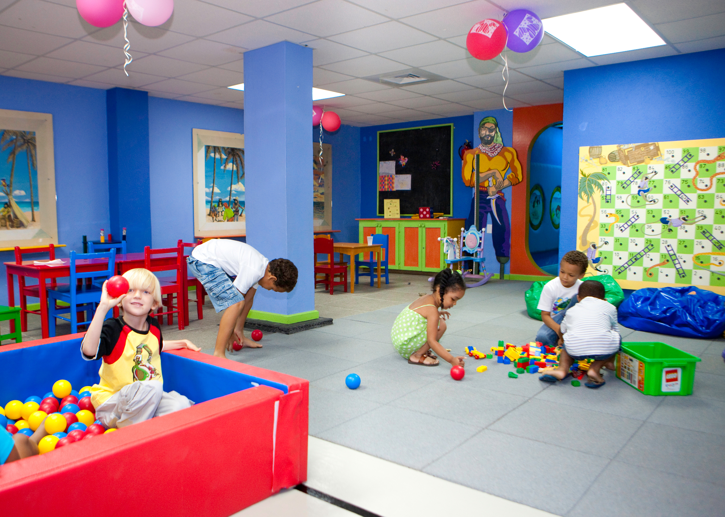 Kids and play areas escape marketing for All decoration games